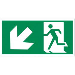 Išėjimas žemyn į kairę