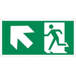Išėjimas aukštyn į kairę
