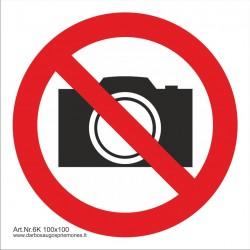 Draudžiama filmuoti ir fotografuoti