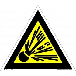 Įspėjimas apie sprogstančiąją medžiagą 461