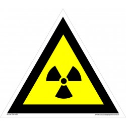 Įspėjimas apie radioaktyvią medžiagą 461