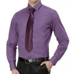 Vyriški klasikiniai įliemenuoti marškiniai
