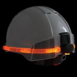 Šviečianti LED juostelė apsauginiam šalmui