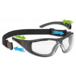 Apsauginių darbo akinių rinkinys