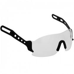 Prie šalmo tvirtinami akiniai