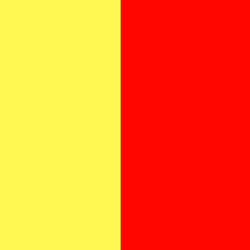 Citrininė geltona/raudona