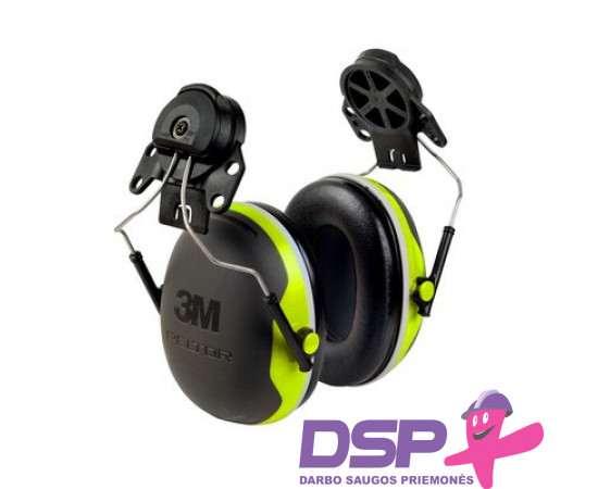 Apsauginės ausinės prie šalmo