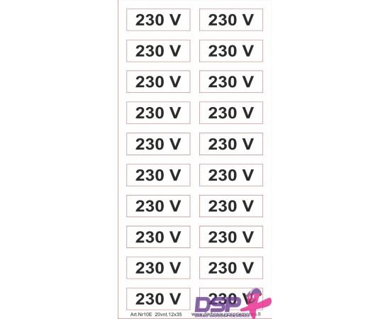 230V 12*35mm 501