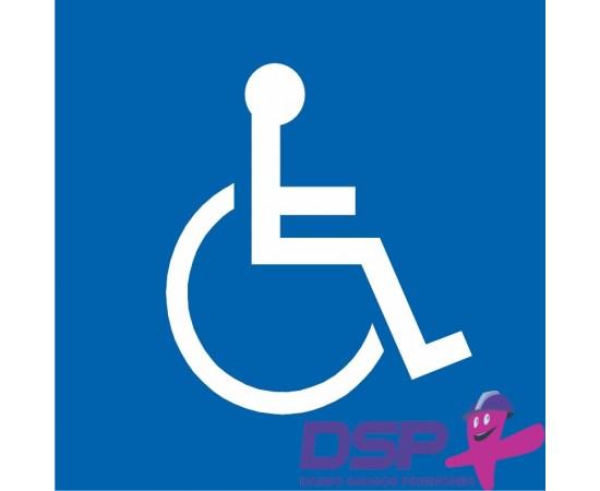 Invalido vairuojamo automobilio skiriamasis ženklas 499