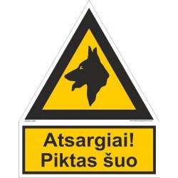 Atsargiai! Piktas šuo 502