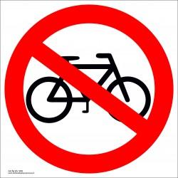 Draudžiama važiuoti dviračiu 462