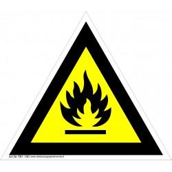Įspėjimas apie degiąją medžiagą