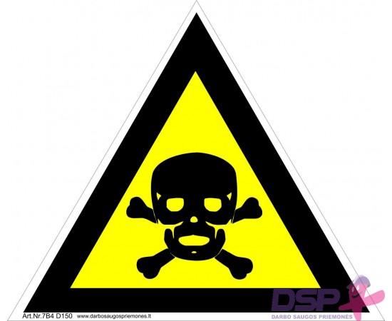 Įspėjimas apie toksinę medžiagą 461