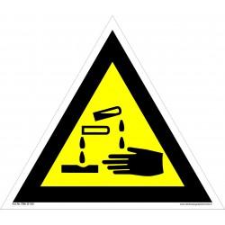 Įspėjimas apie ėdžią medžiagą 461