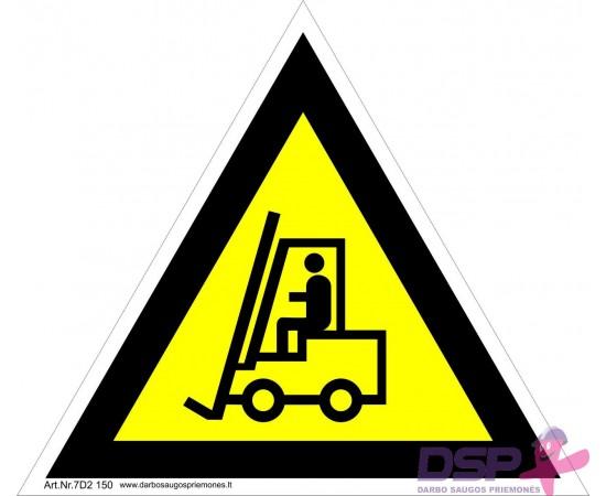 Įspėjimas apie įmonės vidaus transportą 461