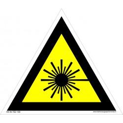 Įspėjimas apie lazerio spindulį 461