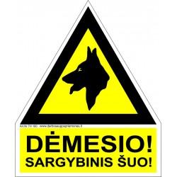 Įspėjimas apie sargybinį šunį 461