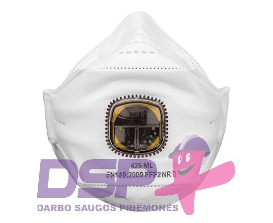 Sulankstomas respiratorius su vožtuvu