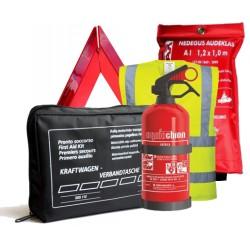 Automobilio saugos rinkinys + audeklas