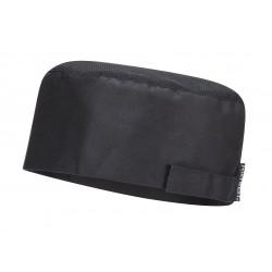 Virėjo kepuraitė su kvėpuojančiu tinkleliu viršugalvyje