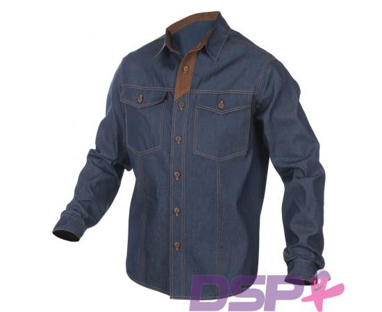 Džinsiniai darbo marškiniai