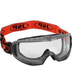 Panoraminiai apsauginiai darbo akiniai.