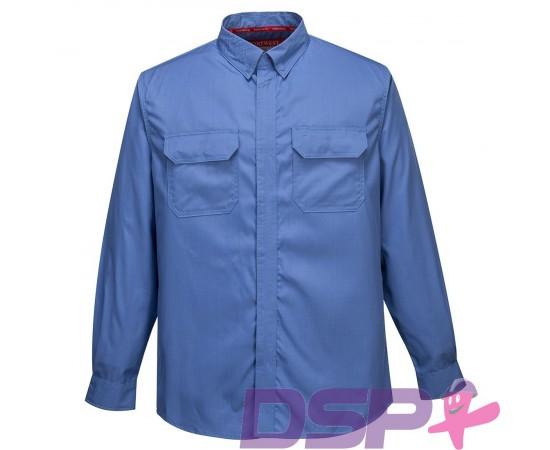 Antistatiniai marškiniai ilgomis rankovėmis