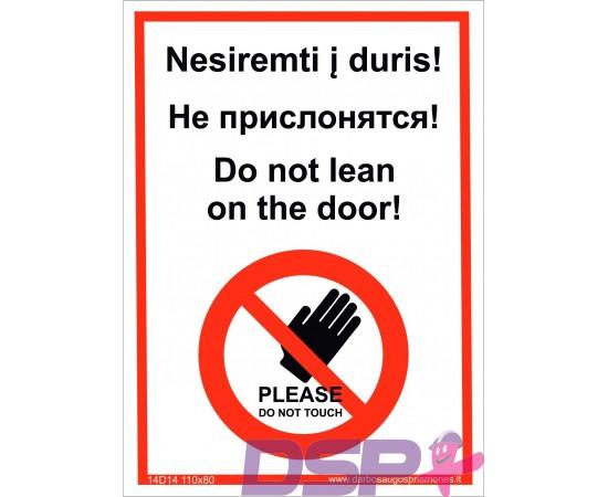 Nesiremti į duris