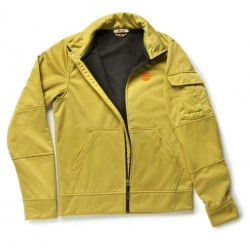 Itališkos kokybės Softshell džemperis su paaukštinta apykakle