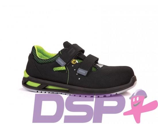 Darbo sandalai su apsaugine nosele