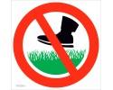 Nevaikščioti ant žolės