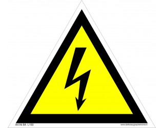 VIII.Elektrosaugos ženklai