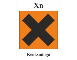 XII. Pavojingų medžiagų ženklai (pakuočių)