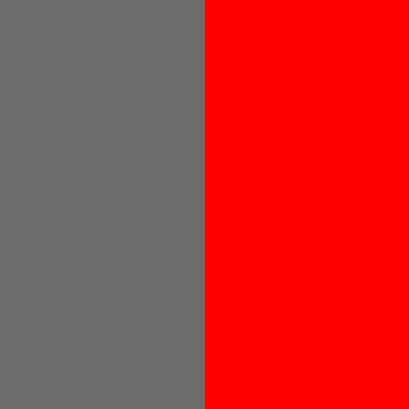Pilka-raudona