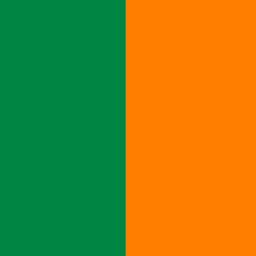 Žalia-oranžinė