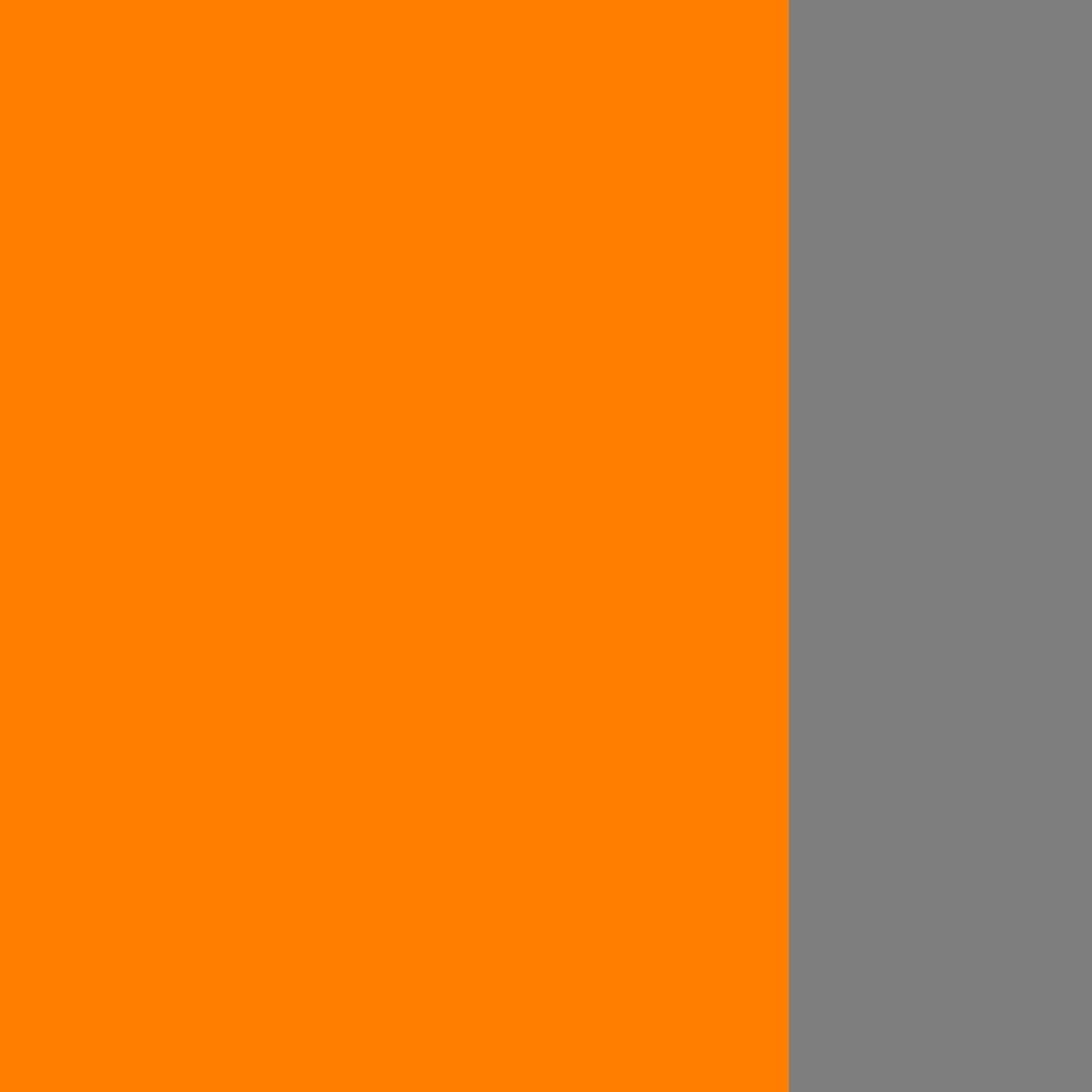 Oranžinė-pilka
