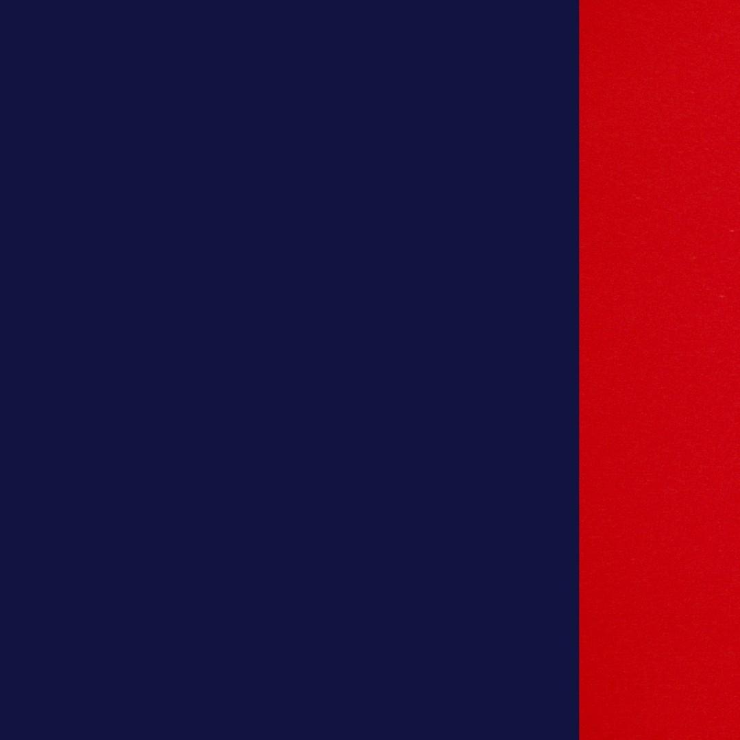 Tamsiai mėlyna-raudona