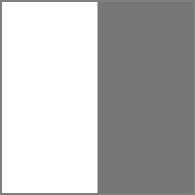Balta/tamsintas skydelis