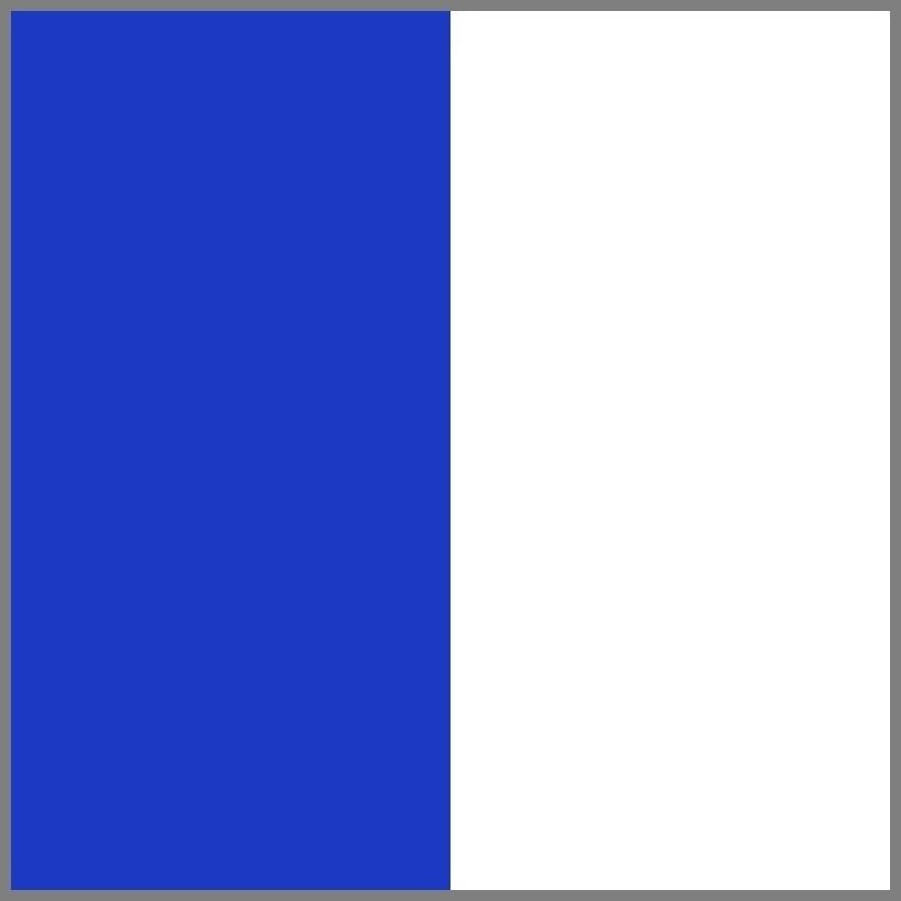 Mėlyna/skaidrus skydelis